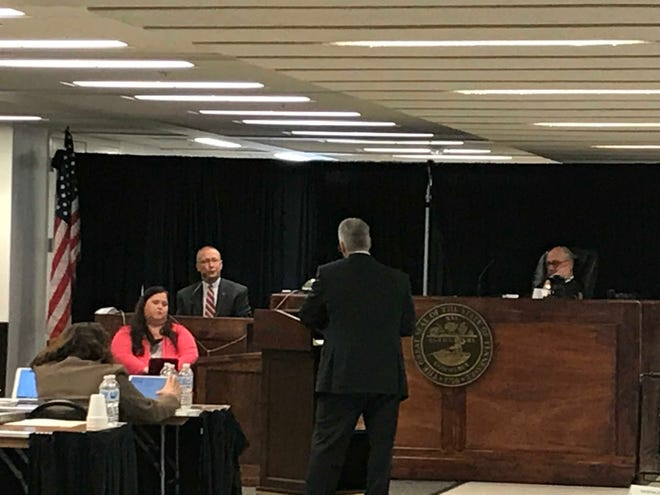 Funeral director and former Memphis City Councilman Brent Taylor testifies for the defense in the lawsuit against dozens of local funeral homes and Galilee Memorial Gardens.