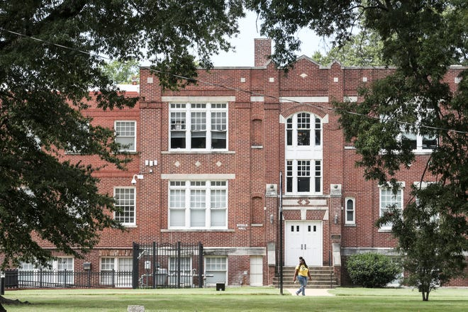 Steele Hall is seen on the LeMoyne-Owen College campus. The college will receive a $100,000 endowment from Alpha Kappa Alpha Sorority, Inc.