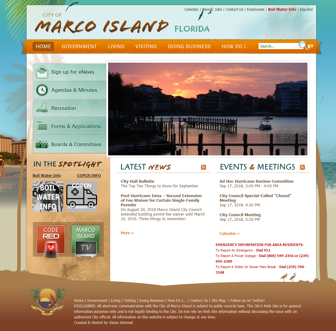 Marco Island to settle lawsuit over closed captioning
