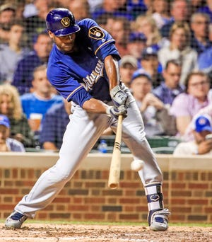 Brewers center fielder Lorenzo Cain had hoped to top his personal record for games played this season but also missed time in late june and early July with a groin strain.