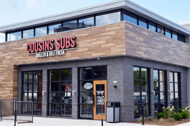 The new Cousins Subs look is sported by the new West Allis Cousins Subs, 6512 W. Greenfield Ave. The Cousins also is one of only three  Cousins that offers shakes and floats.