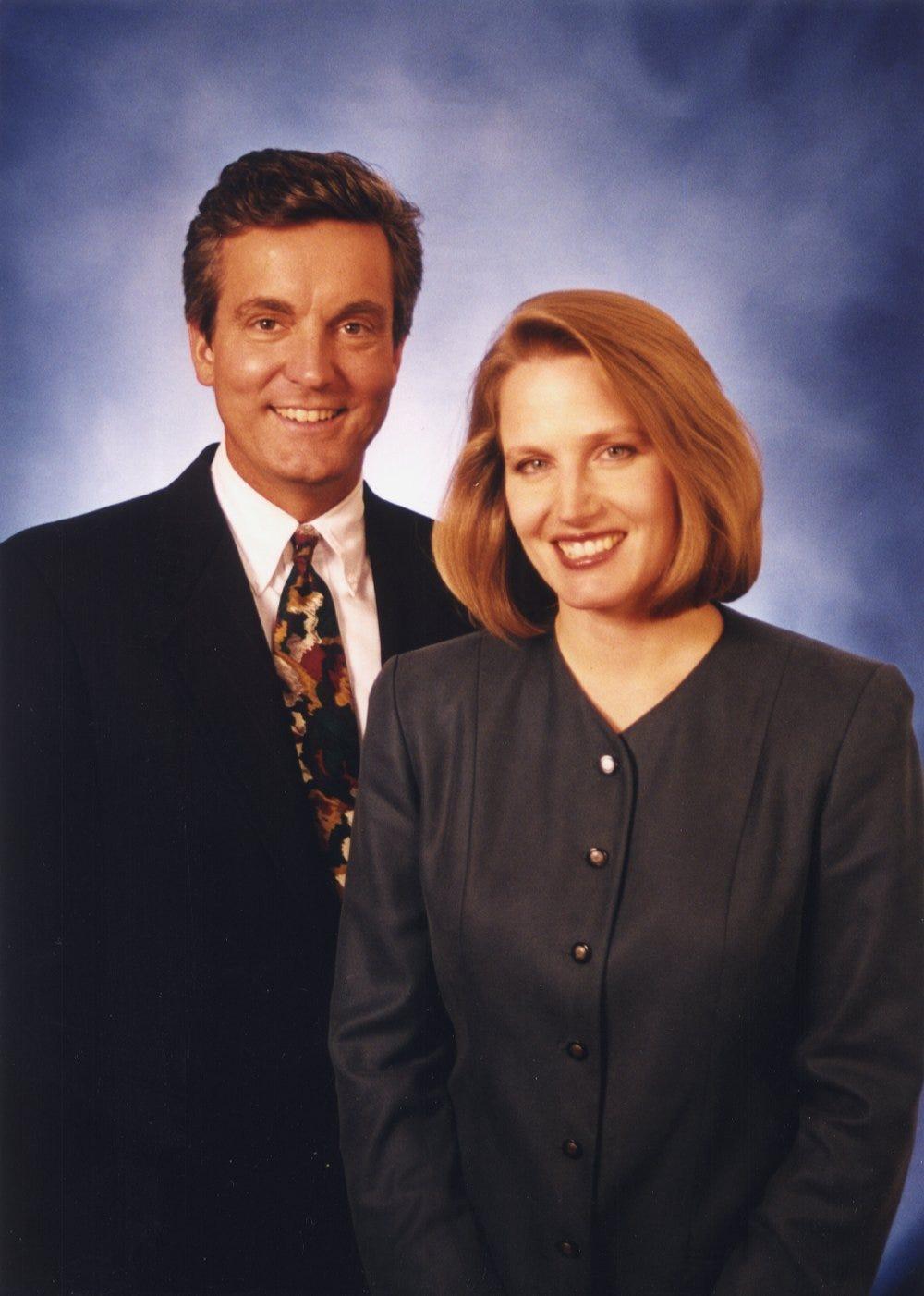David Davis And Jane Hampden Channel 12