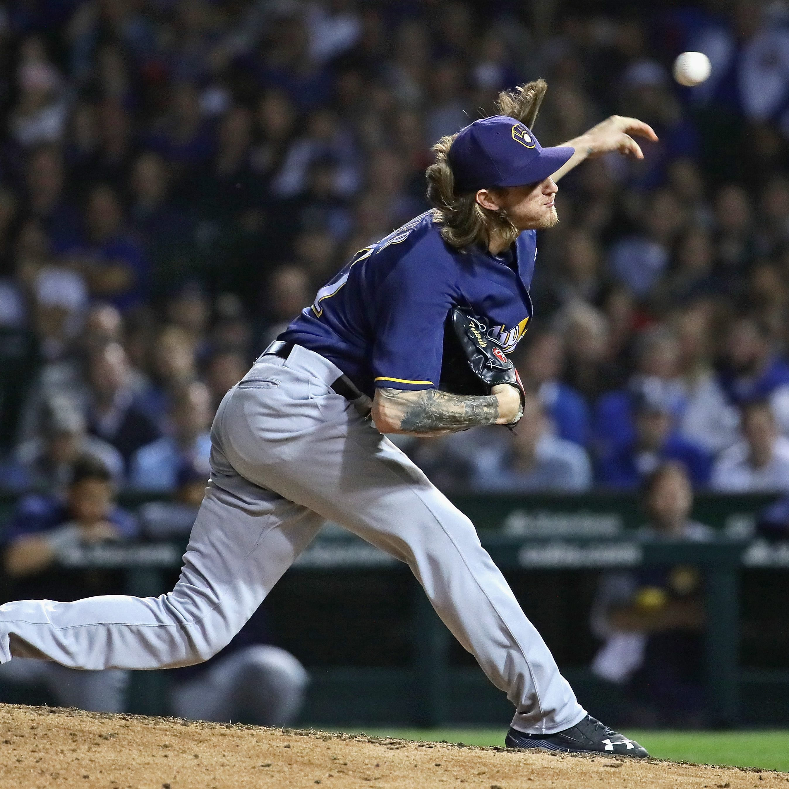 Josh Hader continues to rewrite the major-league record book for relievers