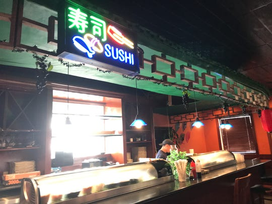 Wasabi Sushi Bar & Grill offers all-you-can eat options.