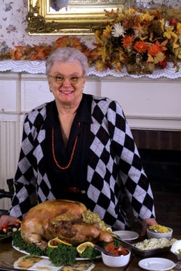 Developers are eyeing Chester's historic Larson's Turkey Farm property for development. The 19th century farm complex for generations was occupied by a restaurant serving family-style meals. Louise Blaine ran the restaurant for 28 years.