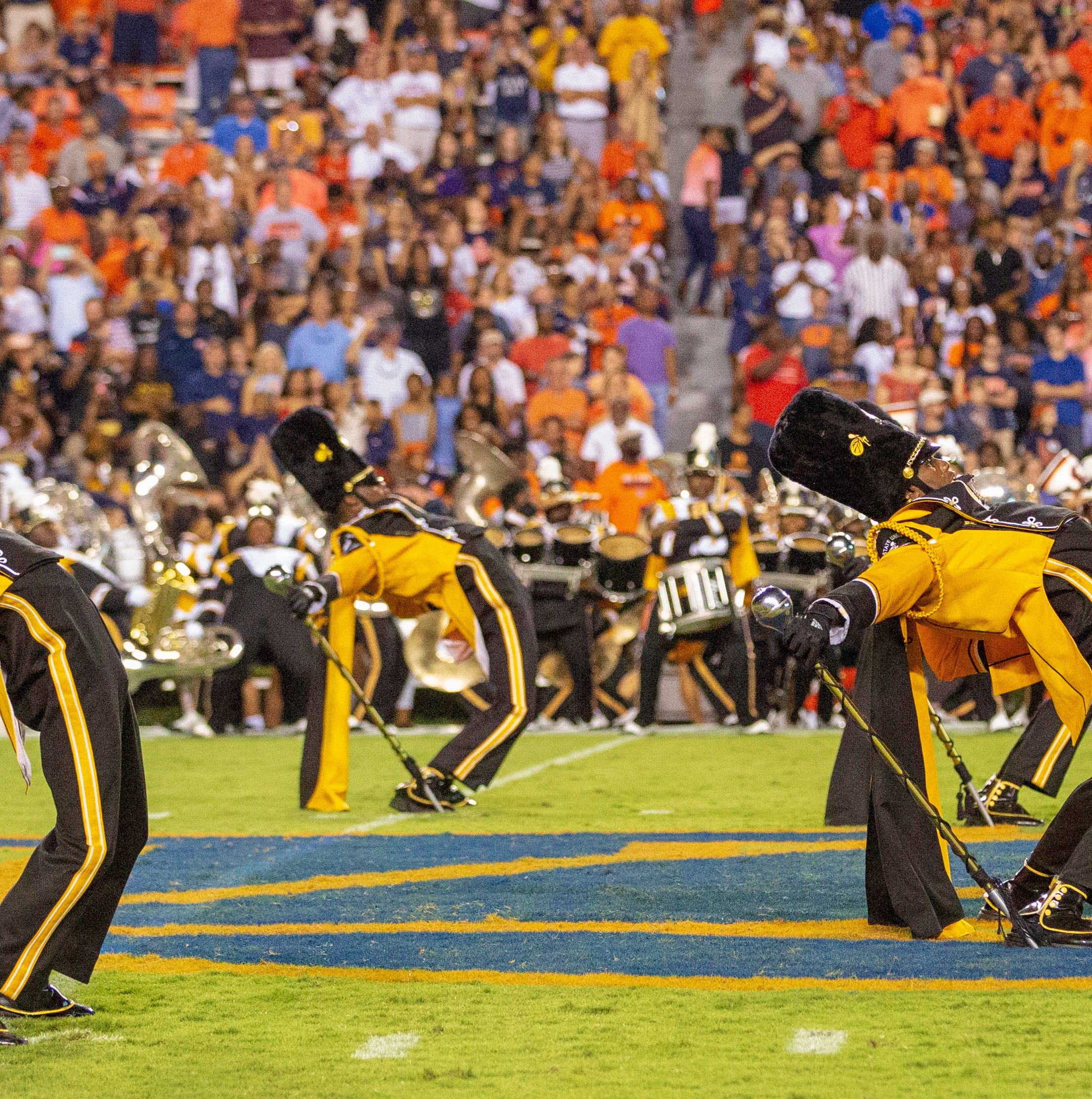 Fly and Mighty: ASU's Marching Hornets rule the field, week after week