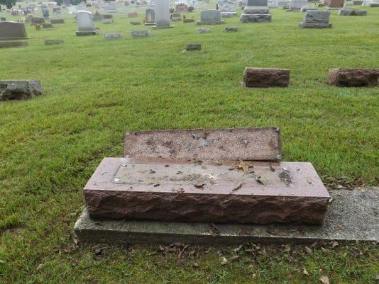 Grave Vandalism