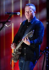 Jason Isbell and the 400 Unit perform during the 2018 Americana Honors and Awards show at the Ryman Auditorium in Nashville, Tenn., Wednesday, Sept. 12, 2018.