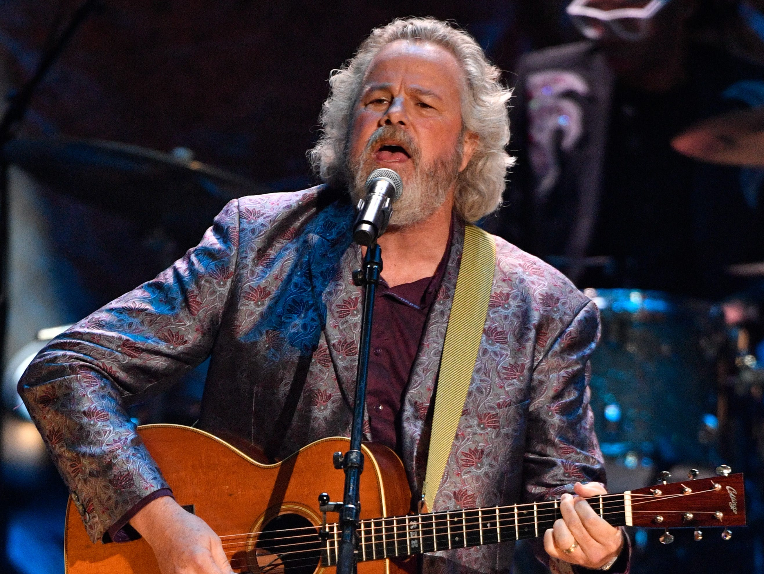 Robert Earl Keen performs during the 2018 Americana Honors and Awards show at the Ryman Auditorium in Nashville, Tenn., Wednesday, Sept. 12, 2018.