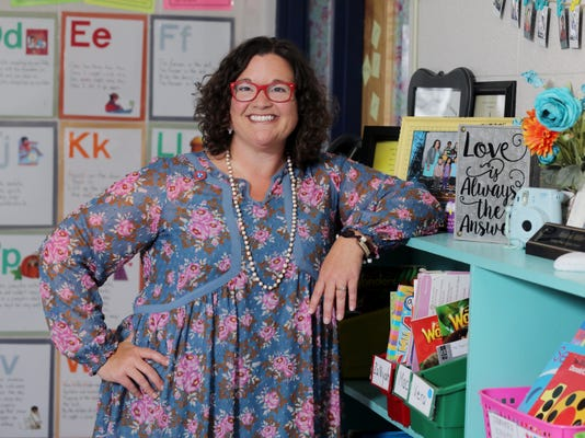 Teacher Of The Year Finalist 08