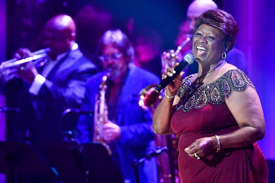 Irma Thomas performs during the 2018 Americana Honors and Awards in Nashville, Tenn., one of the highlights of the show.