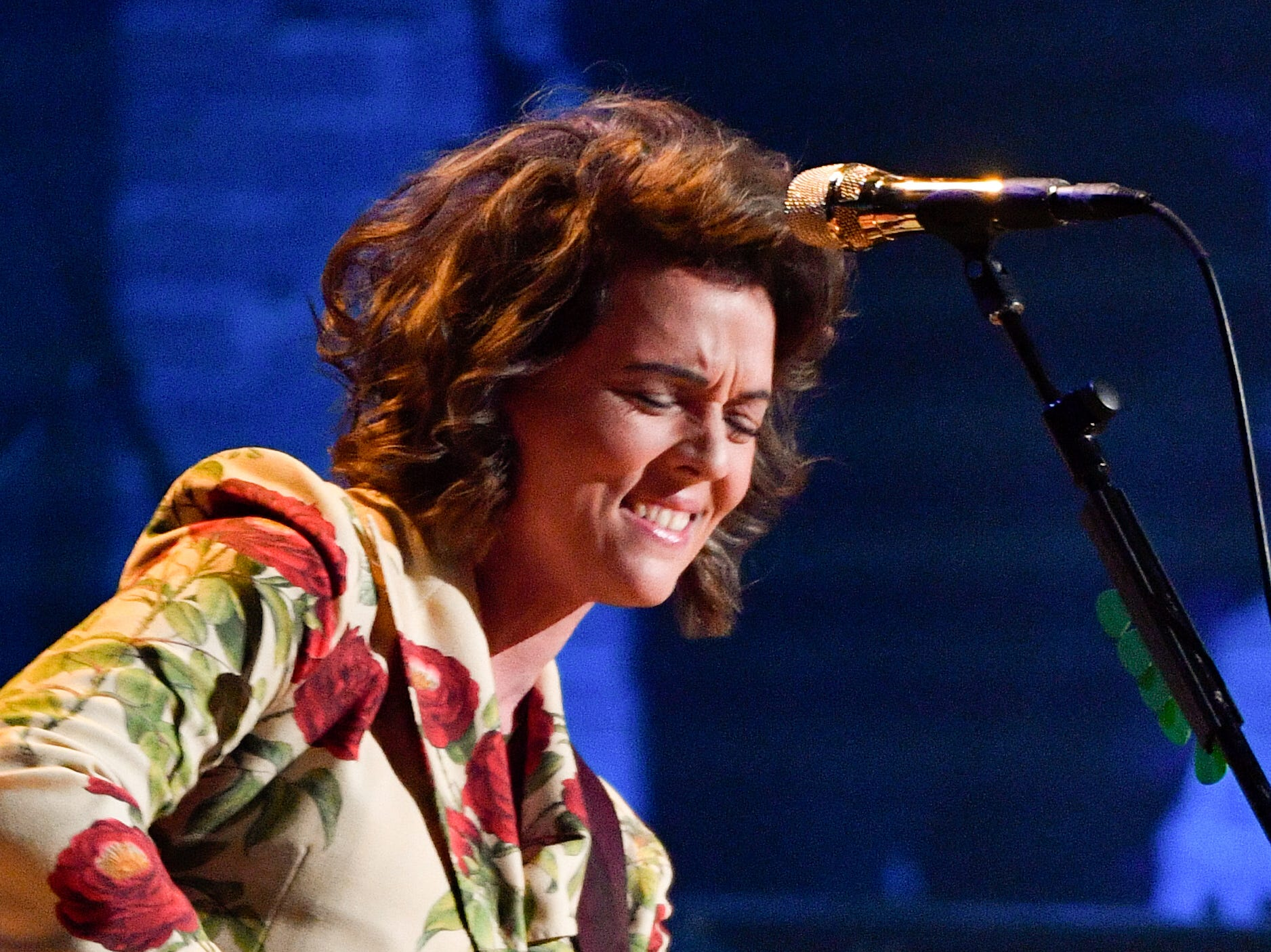 Brandi Carlile performs during the 2018 Americana Honors and Awards show at the Ryman Auditorium in Nashville, Tenn., Wednesday, Sept. 12, 2018.