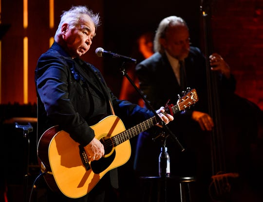 John Prine performs during the 2018 Americana Honors and Awards show at the Ryman Auditorium in Nashville, Tenn. He won artist of the year.