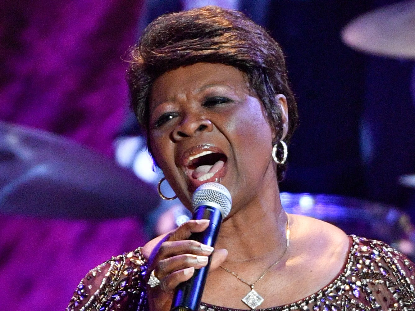 Irma Thomas performs during the 2018 Americana Honors and Awards show at the Ryman Auditorium in Nashville, Tenn., Wednesday, Sept. 12, 2018.
