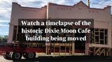 Watch a timelapse of the historic Dixie Moon Cafe building being moved to its new location across from the Liles Hotel in downtown Bonita Springs.