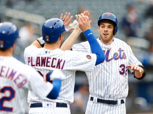 Mlb Game One Miami Marlins At New York Mets