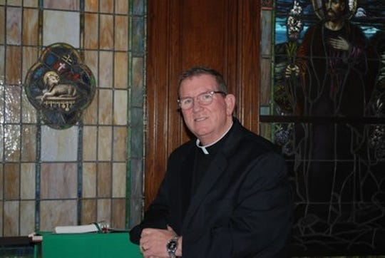 The Rev. Jim Weiner, who stepped aside at St. Andrew's Church in Westwood last January after an investigation was reopened.
