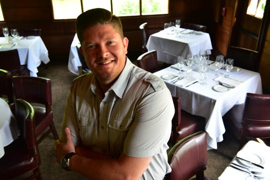 Jamie Knott, owner and chef of Saddle River Inn.