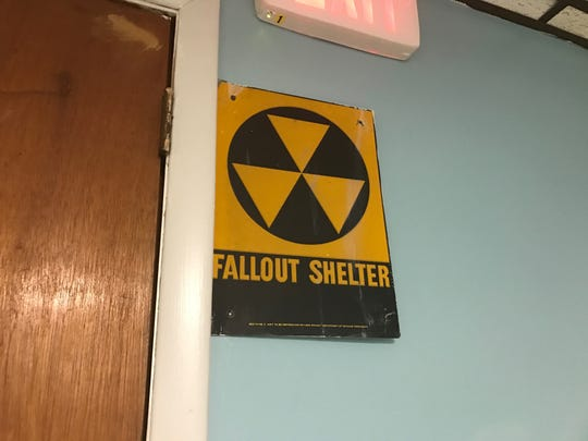 The basement of Patrick M. Villano Elementary School, where music classes, occupational therapy and physical therapy is held, was once a fallout shelter.
