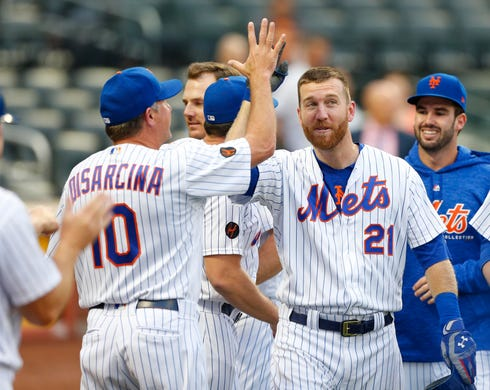 check out 634cc 6d58a Todd Frazier hits walk-off HR in Mets' doubleheader sweep ...