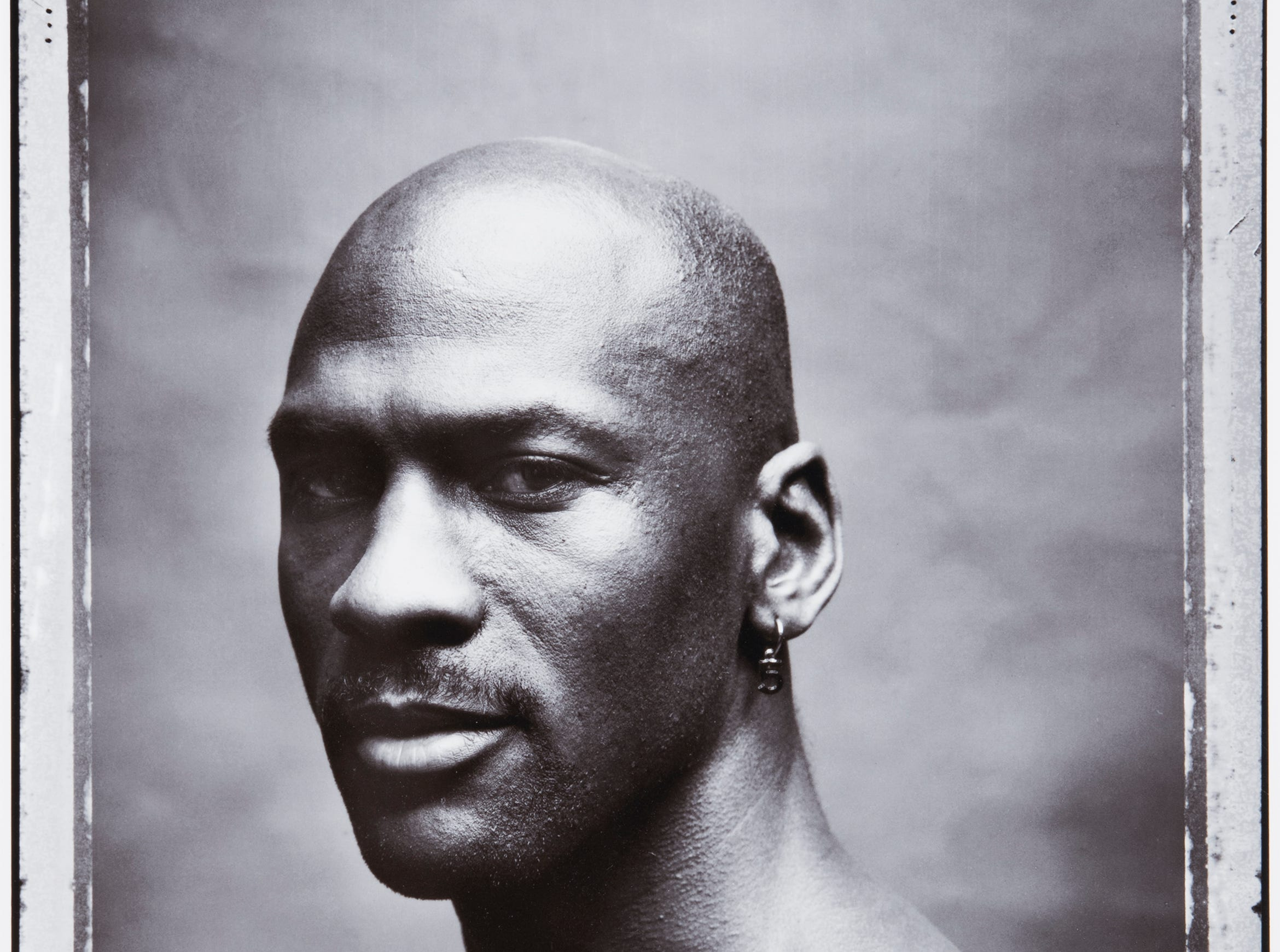 Celebrity Culture: Iooss Walter Iooss  Michael Jordan, Chicago, Ill., 1998  Archival pigment print on paper  Collection Zimmerli Art Museum at Rutgers  Gift of Lev Pukin  Photo Peter Jacobs