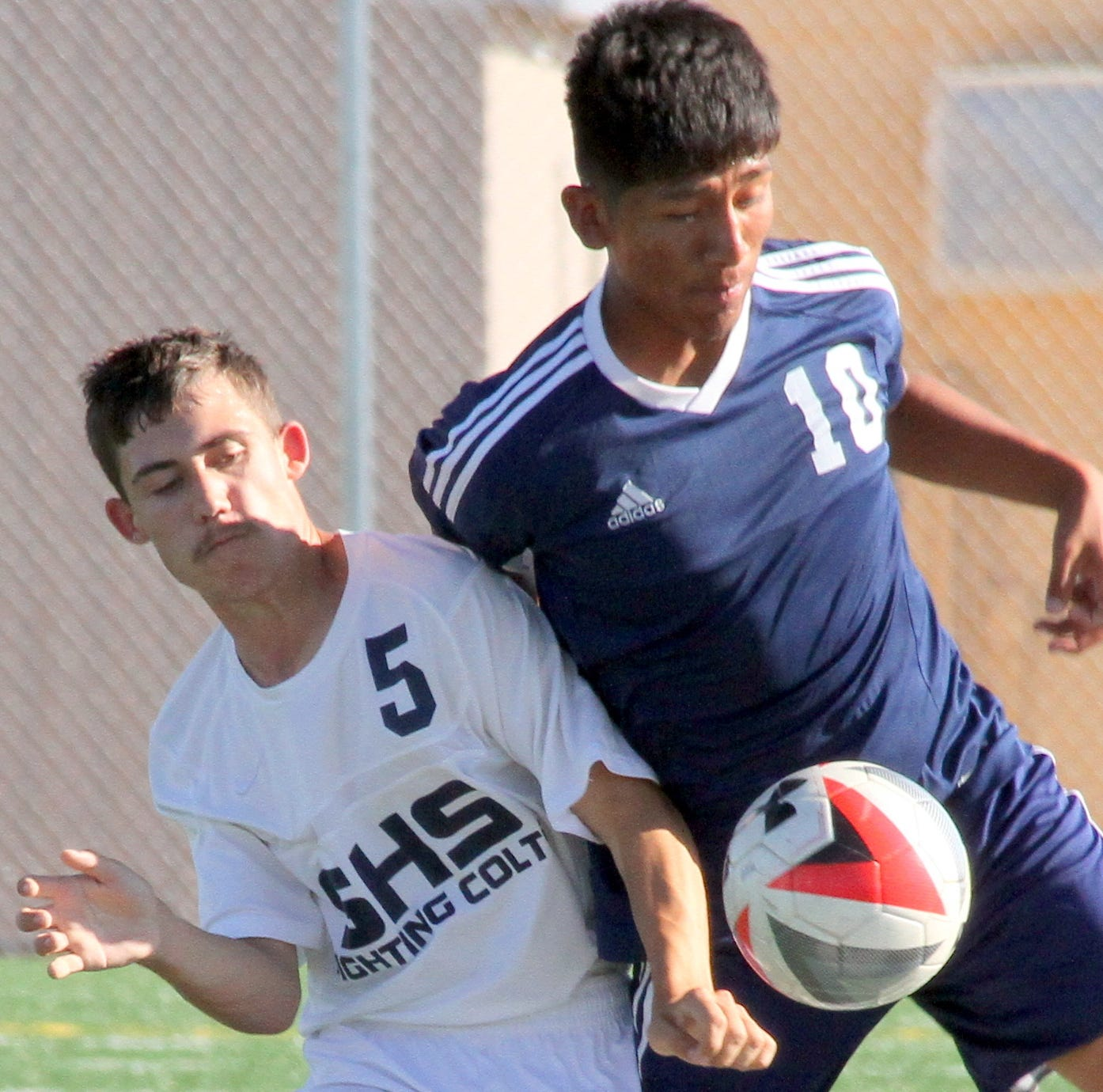 Deming High soccer boys host Las Cruces High Bulldawgs on Saturday, Sept. 15, 2018