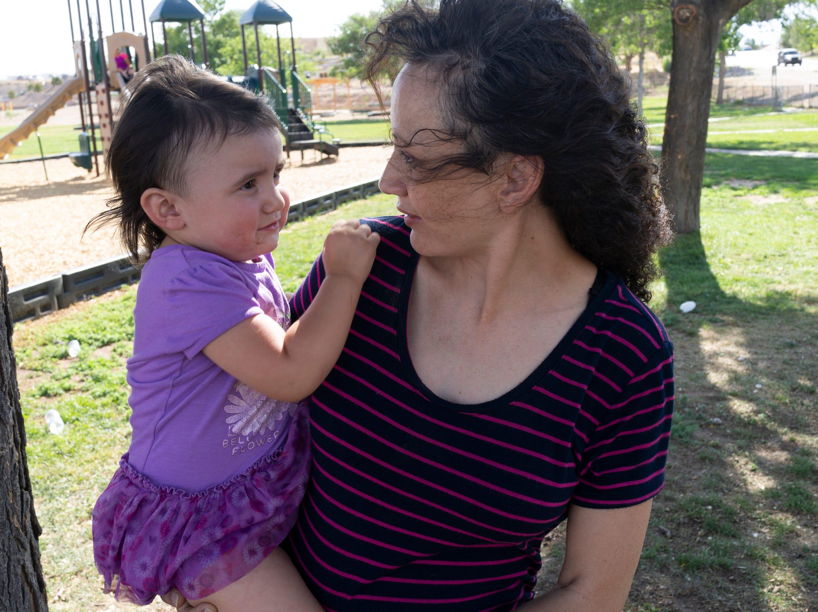 Emilia with Daniella