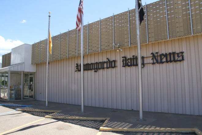 Alamogordo Daily News building, 518 24th St.