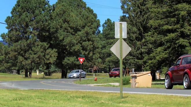 Yield signs may be changed at a major intersection of Paradise and Country Club Drive.