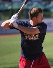 Todd Weiss batted .500 in six games for the USPBL champion Birmingham-Bloomfield Beavers this summer.