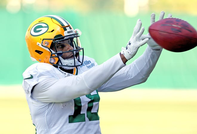 Green Bay Packers wide receiver Randall Cobb (18) during practice September 13, 2018 at Clarke Hinkle Field in Ashwaubenon, WIs.