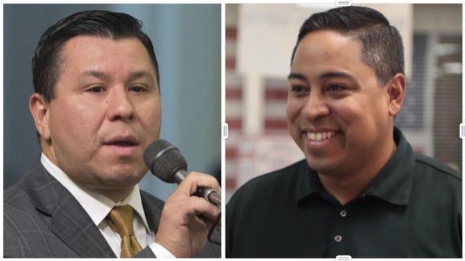 Incumbent state Assemblyman Eduardo Garcia, D-Coachella, left, takes on a challenge from Republican candidate Jeff Gonzalez.