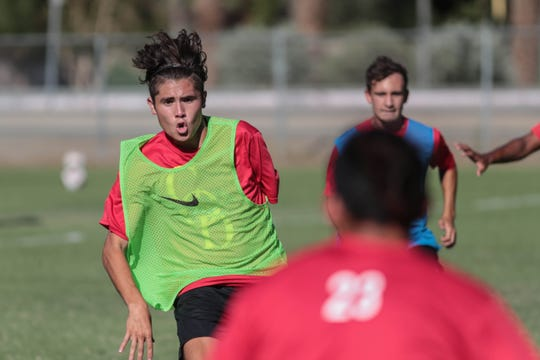 Lucas Rosales, a former Desert Valley League Player of the Year at La Quinta, is now a standout on the College of the Desert men's soccer team.