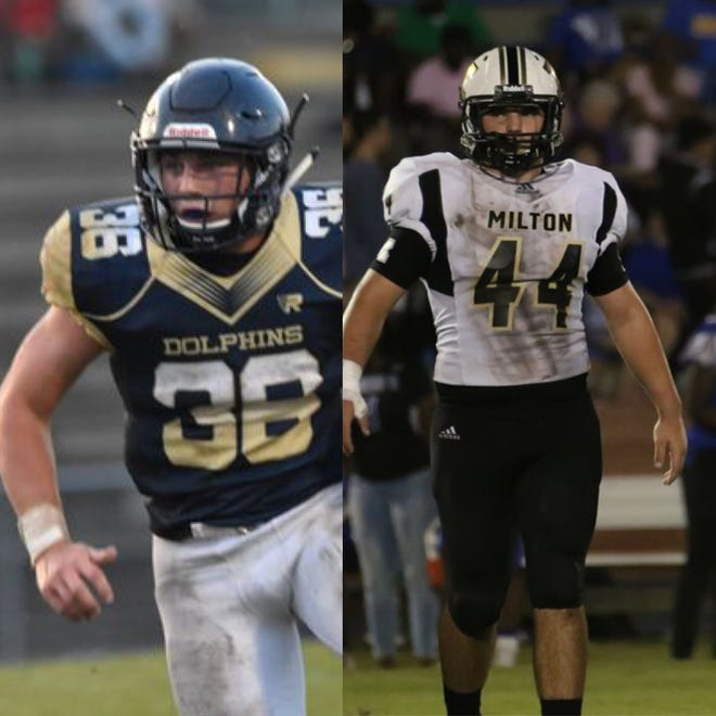 Tyler Dittmer (offense) and Trevor Lunsford (defense) are the PNJ Players of the Week
