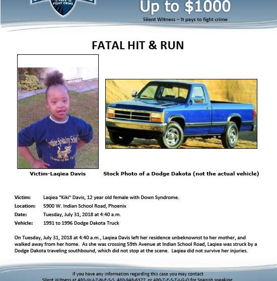 12-year-old killed in hit-and-run identified; police still seeking driver