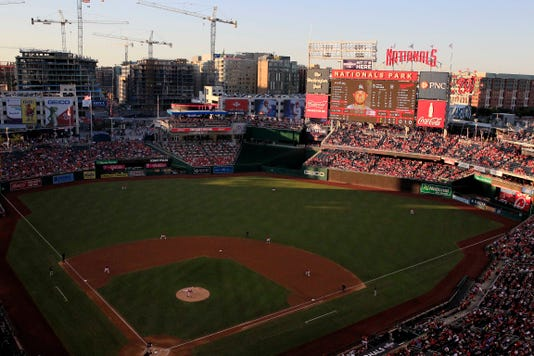 Mlb Miami Marlins At Washington Nationals