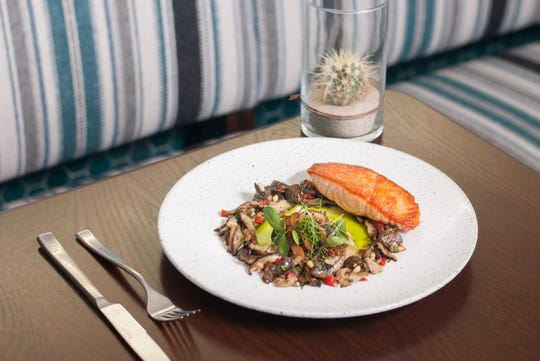 The pan roasted Ora King salmon from Hearth '61 is part of the Arizona Restaurant Week menu.