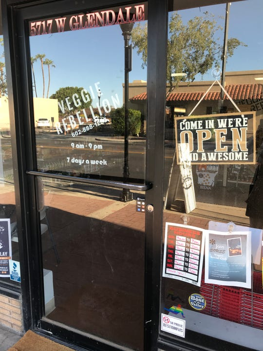 Veggie Rebellion, an all-vegan grocery store, opened in February in Glendale.