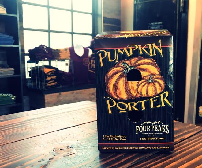 Four Peaks Brewing Company's most popular seasonal beer: The Pumpkin Porter.