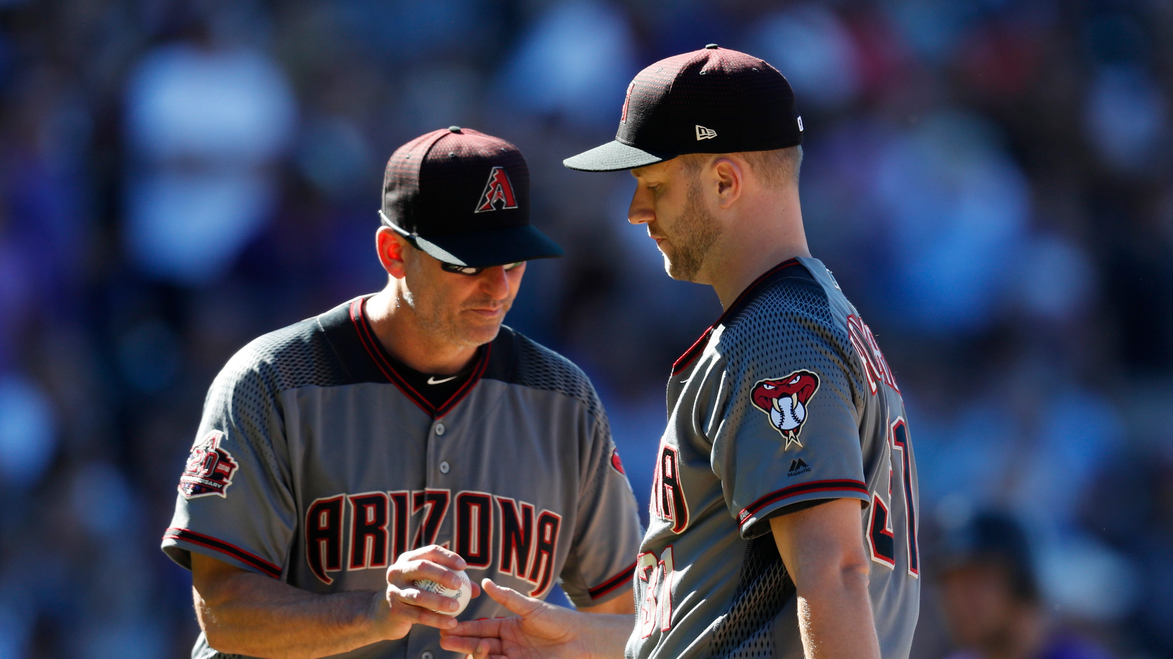 While assigning blame, don't forget Diamondbacks manager Torey Lovullo