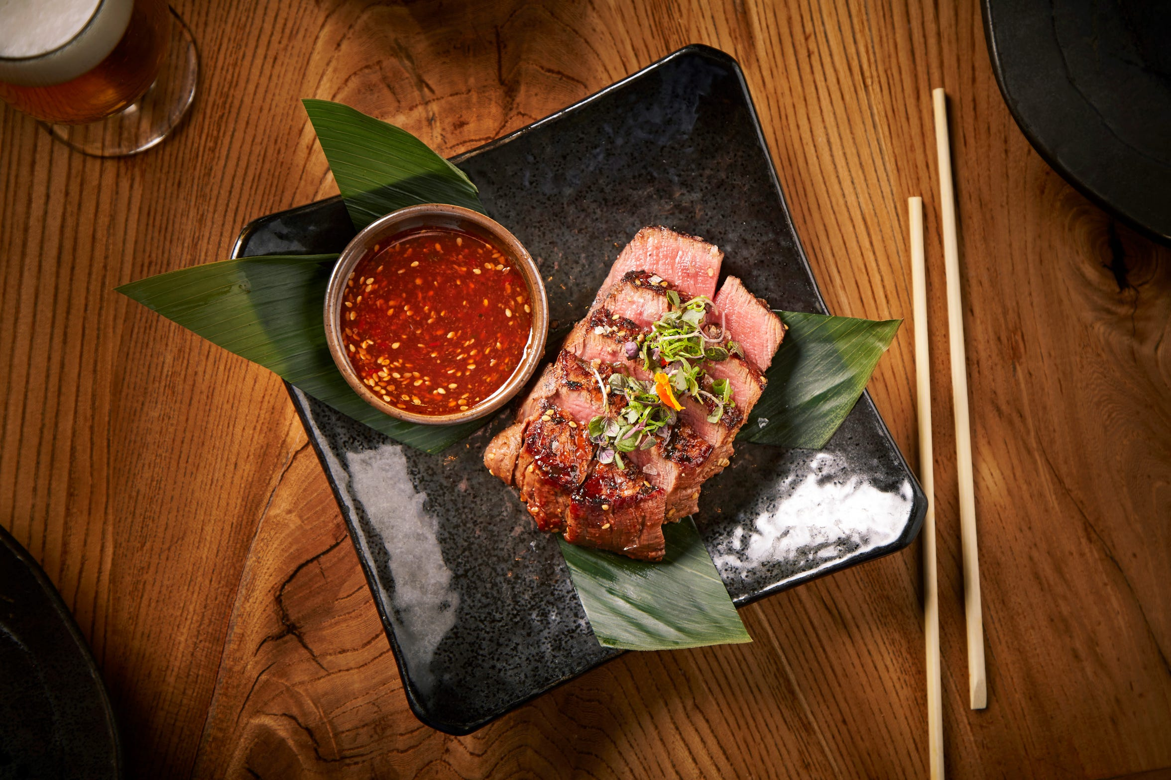 The prime fillet at Roka Akor.