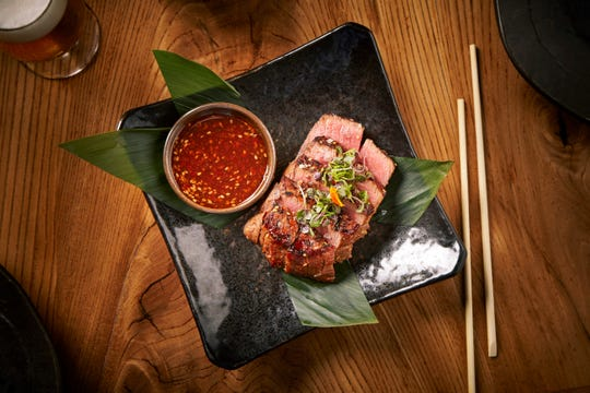 The prime fillet is one of the course options at Roka Akor during Arizona Restaurant Week.