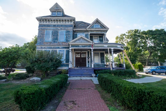 The more than 120-year-old James Davidson Manor in Port Huron has been vacant for seven years, since Catch 22 closed. Chris Troy acquired the property in the spring of 2018 and has plans to return the building to return the building to a single family home.
