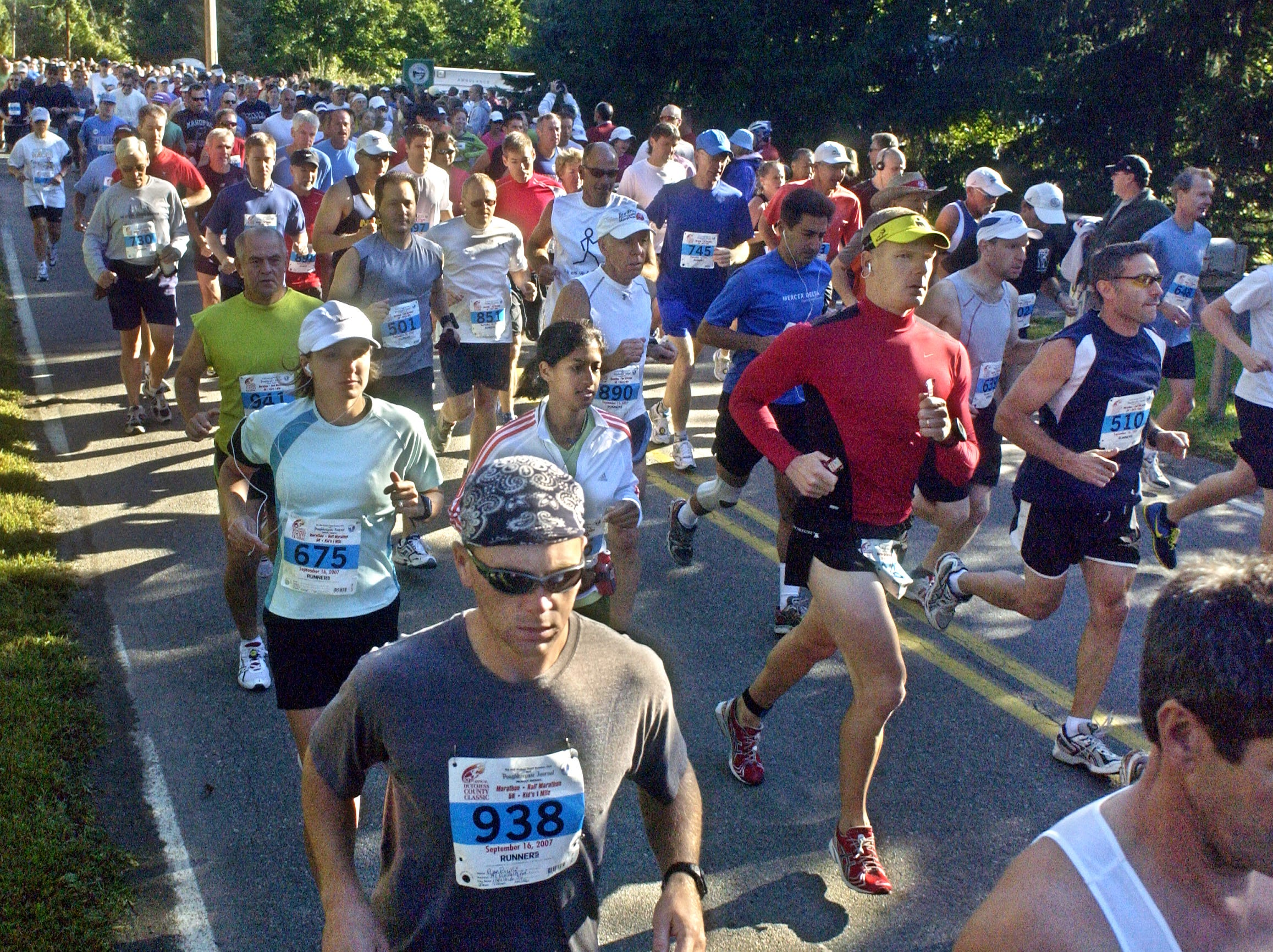 This photo from Sept. 16, 2007 shows the final running of the Dutchess County Classic's marathon race.