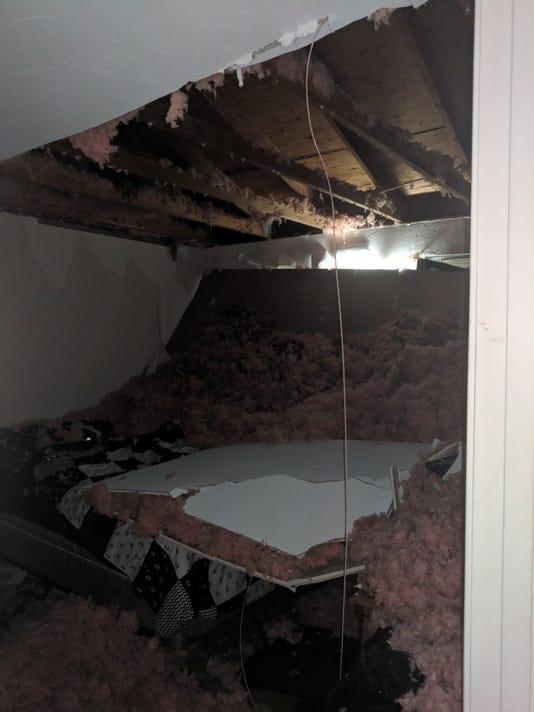 Shrewsbury Twp. ceiling collapse
