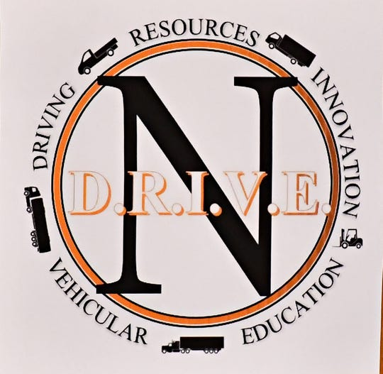 The Northeastern High School D.R.I.V.E. (Driving Resources Innovation Vehicular Education) program launches a fundraiser at the school in Manchester, Wednesday, Sept. 12, 2018. The program provides basic CDL license training and networking opportunities for students in commercial driving industry. Dawn J. Sagert photo