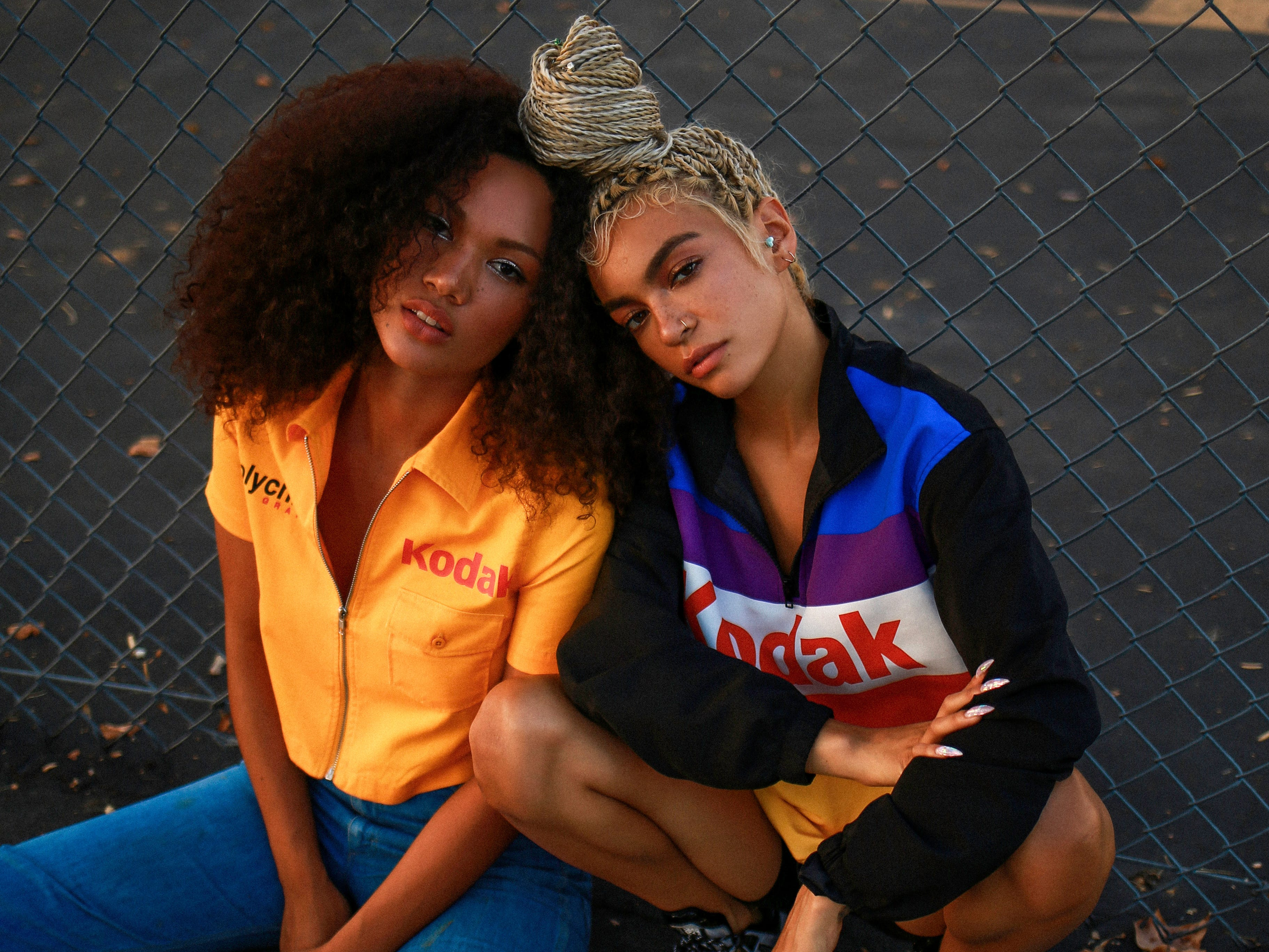 Kodak's new fashion line with Forever 21 features colorful graphics