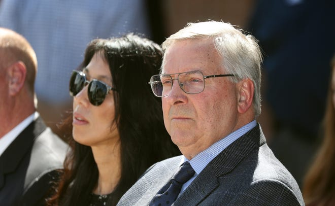 Kim and Terry Pegula will soon hire their sixth head coach in eight full seasons of owning the Buffalo Sabres. Their team's eight-year playoff drought in longest in the NHL.