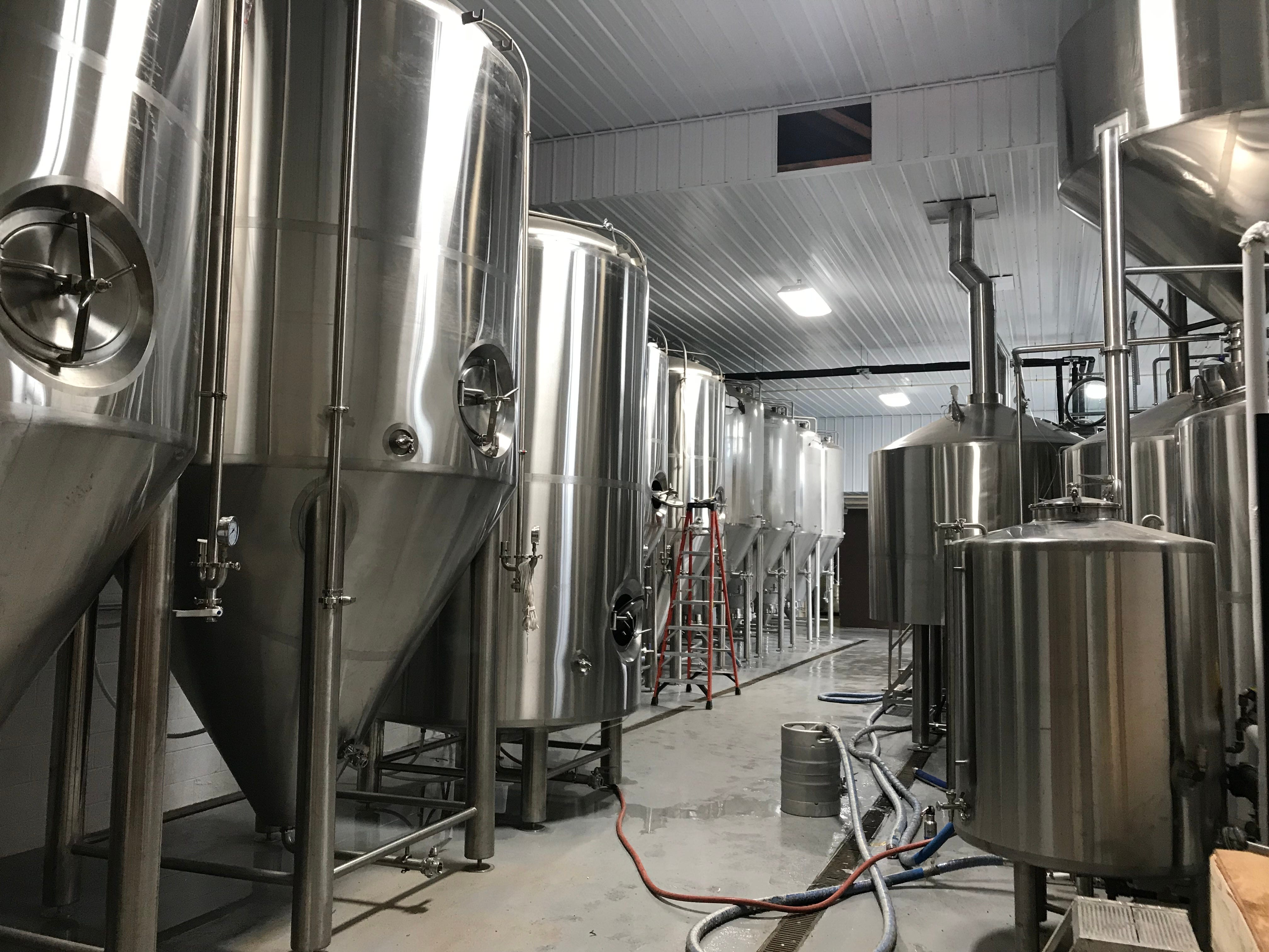 Stoneyard is jumping from a 2.5-barrel brewhouse to a 30-barrel brewhouse at the new production space.