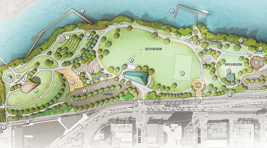 Riverfront Park Master Plan Illustrative Graphic
